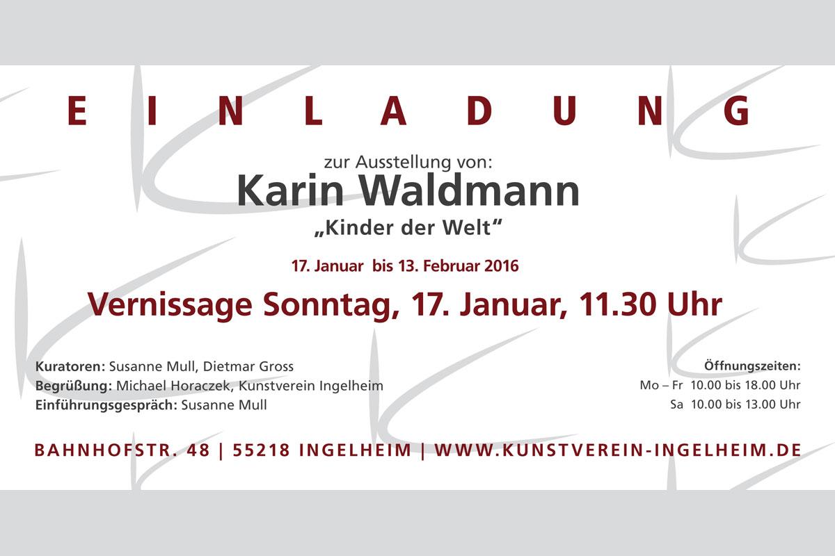 Ausstellung Karin Waldmann: Kinder der Welt