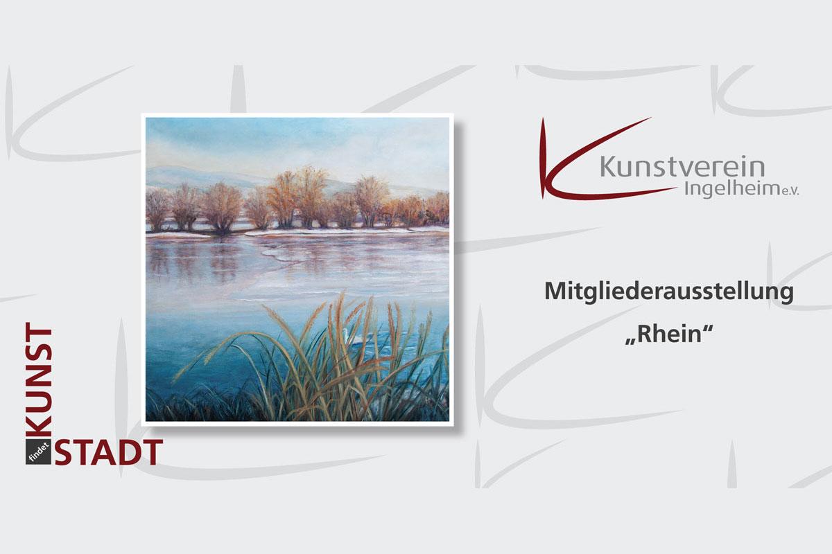 Rhein - Mitgliederausstellung Kunstverein Ingelheim