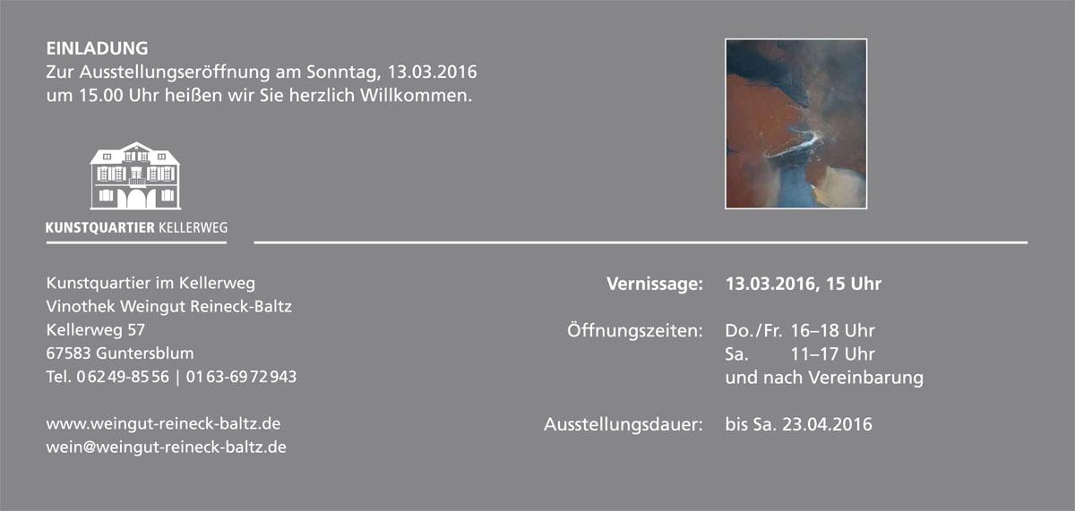 Nicole Hedderich Einladung
