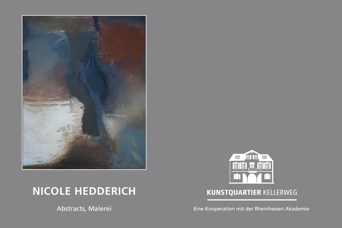 Nicole Hedderich im Kunstquartier Kellerweg