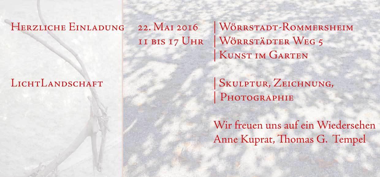 "Kuprat & Tempel: ""LichtLandschaft"""