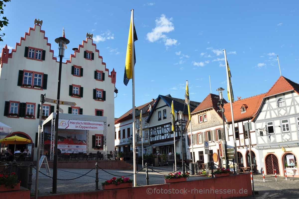 Marktplatz Oppenheim, © Dita U. Krebs | fotostock-rheinhessen.de