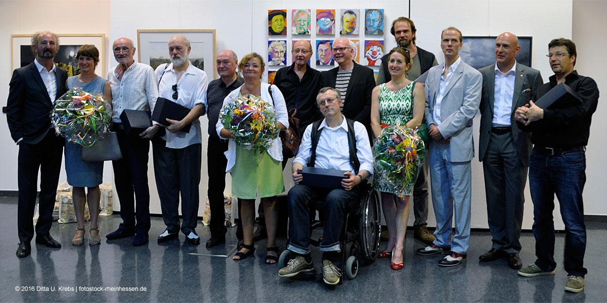 Rheinhessen Symposium: Künstlerinnen und Künstler, Kurator, Laudator ....