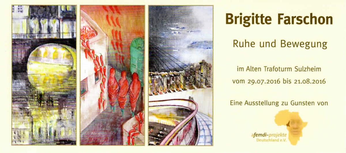 """Brigitte Farschon """"Ruhe und Bewegung"""""""