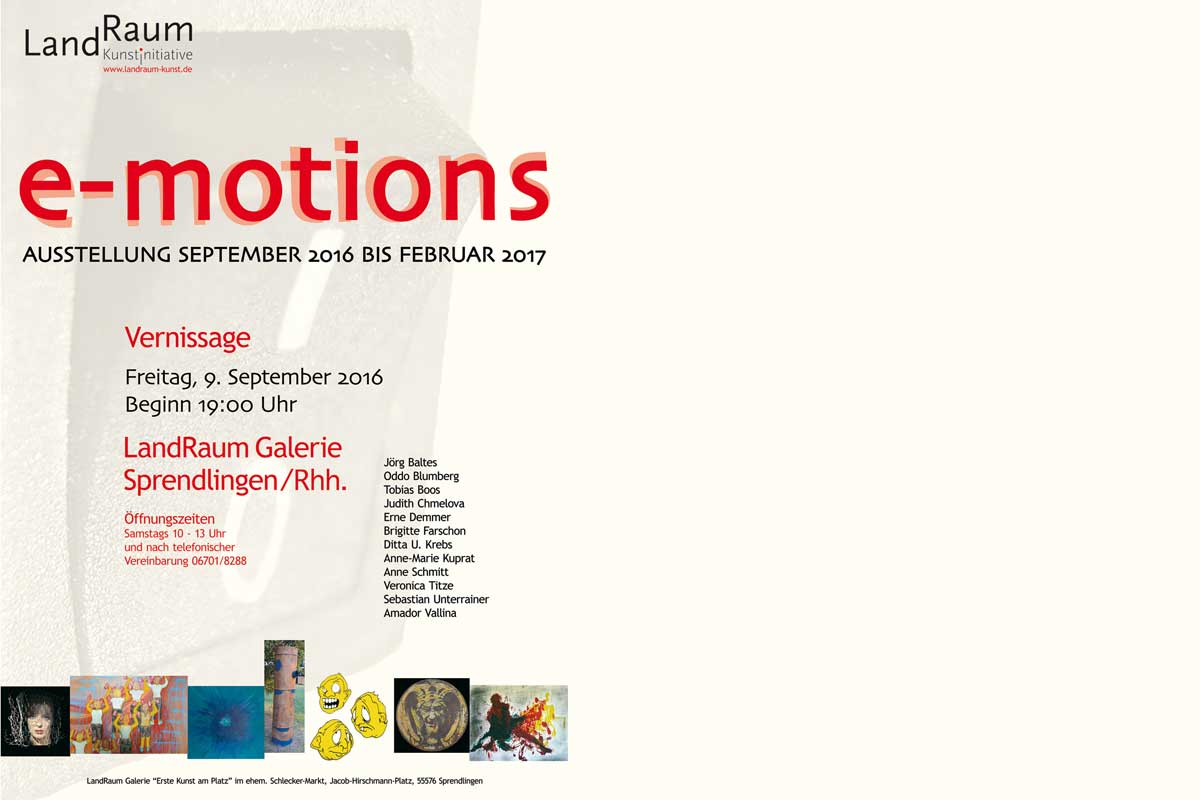 e-motions, LandRaum Kunst, Sprendlingen