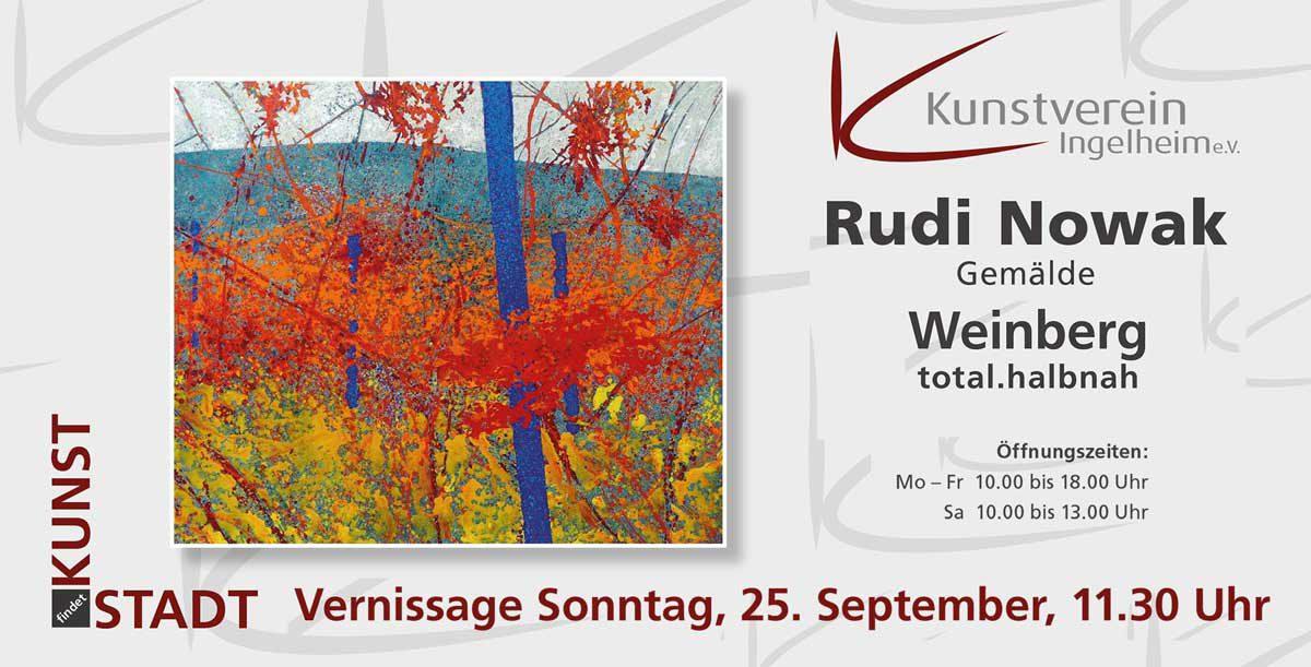 """Rudi Nowak """"Weinberg"""""""