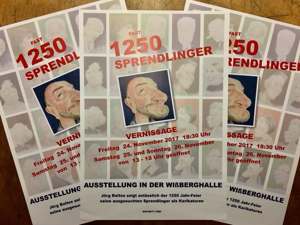 Fast 1250 Sprendlinger - Plakate
