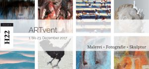 "Ausstellung ""ARTvent"" | 1.-23.12.17 GALERIE H22, Wiesbaden"