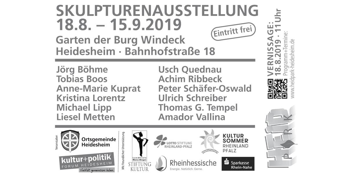 Heimat(en) – Skulpturenausstellung³ im HeidPark, Heidesheim